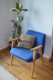 fotel 366 z poduszką ze sznurka jutowego