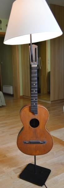 lampa z gitary