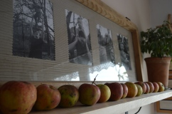 zdjęcia w ramie okiennej