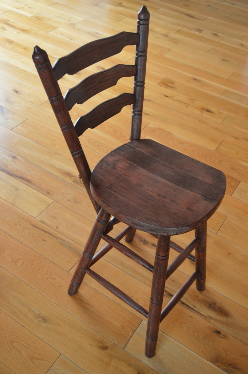 krzesło z odzysku