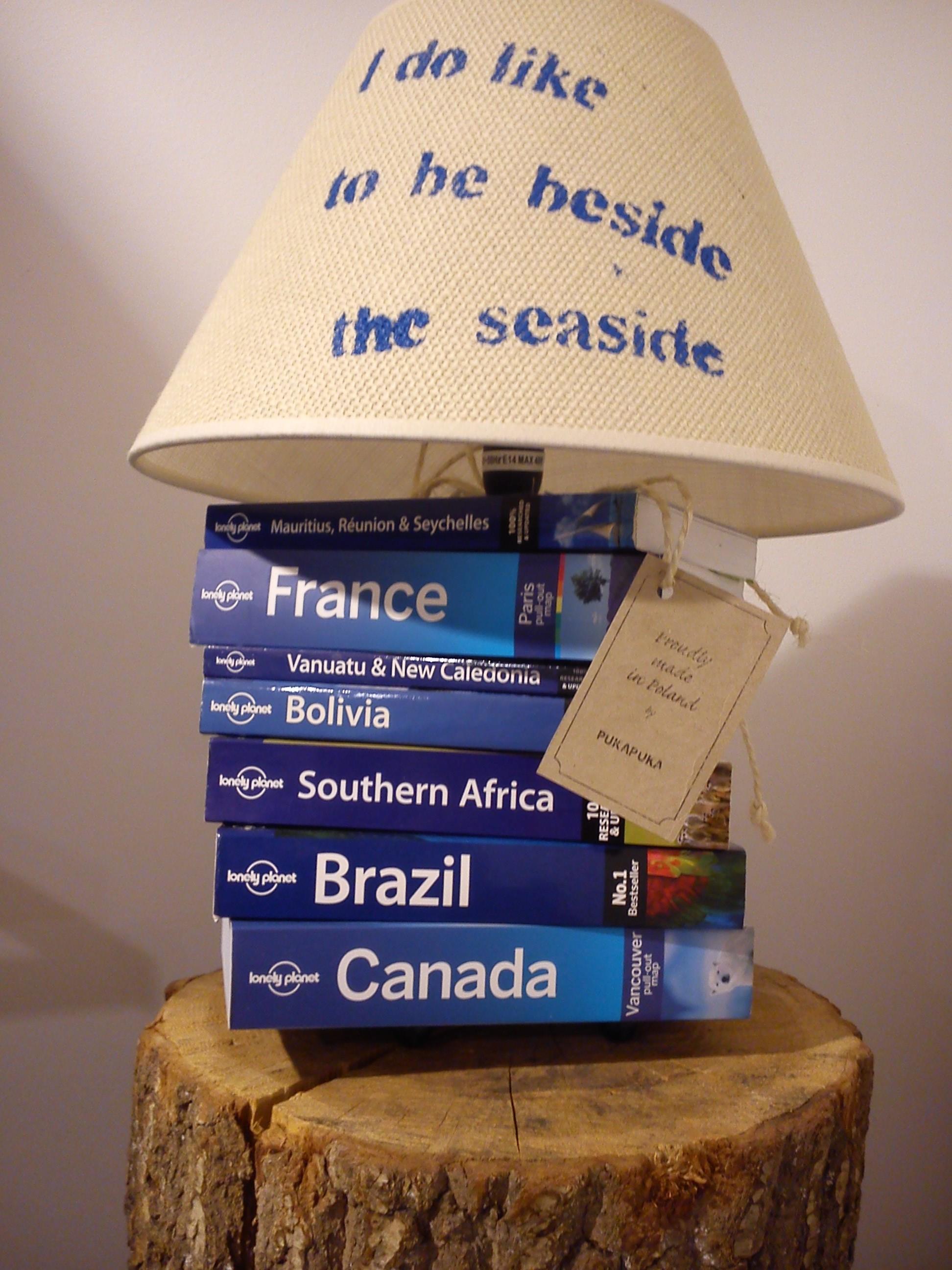 lampa nadmorska z przewodników