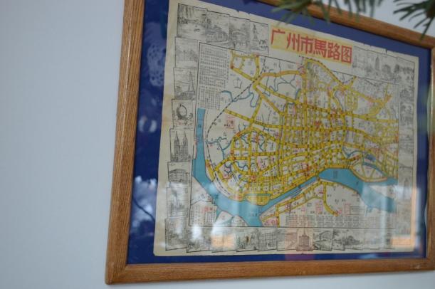 plan miasta w ramce