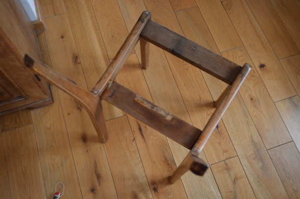 szkielet krzesła