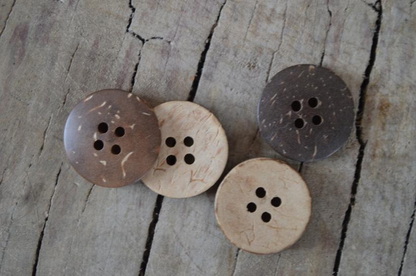 kokosowe guziki