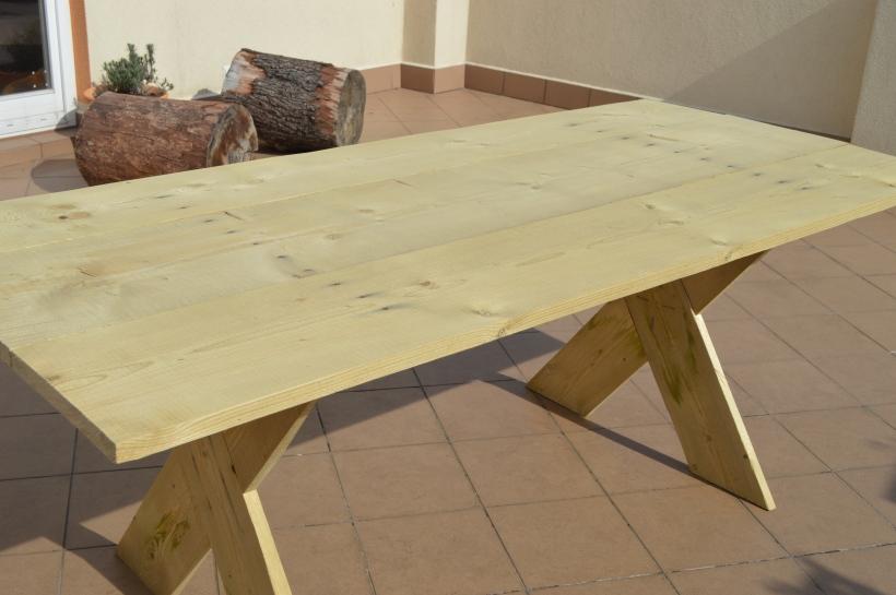 stół z desek