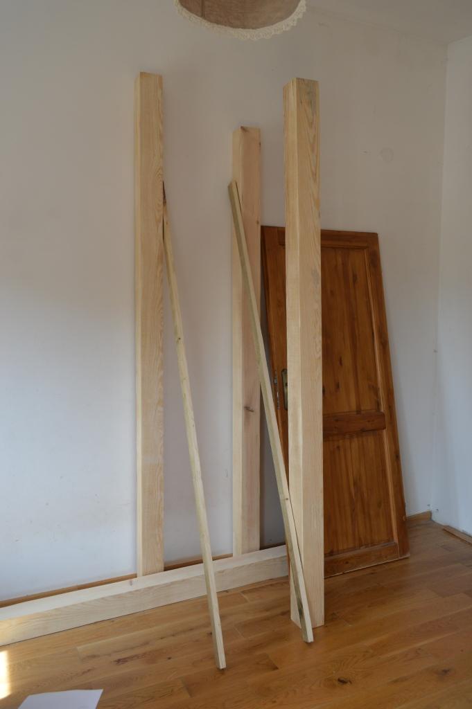 drewno na łóżko