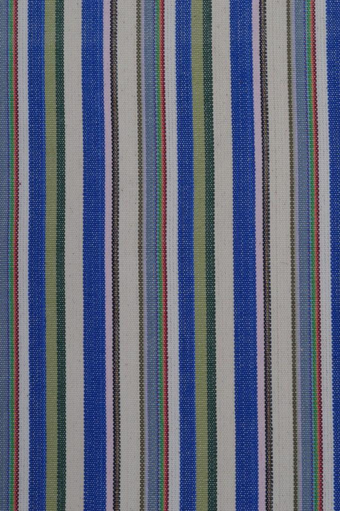 tkanina w niebieskie paski