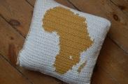 poduszka z Afryką