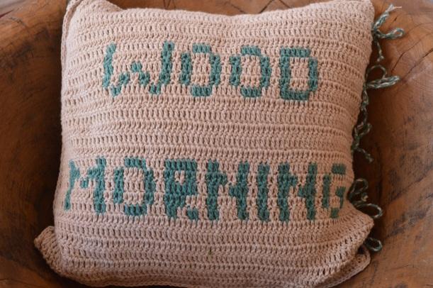 poduszka wood morning