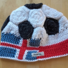 czapka piłka polsko-islandzka