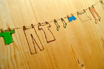 bielizna na sznurku