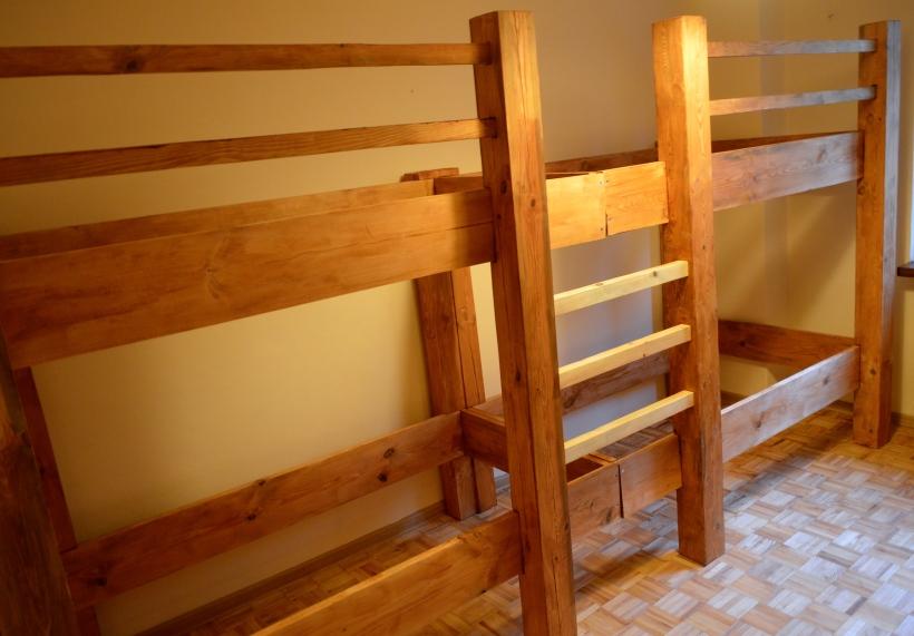 łóżko piętrowe czteroosobowe