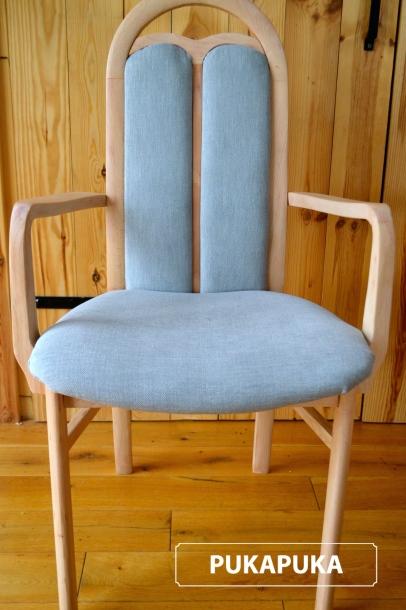 krzesło po metamorfozie