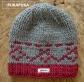 czapka z motywem ludowym