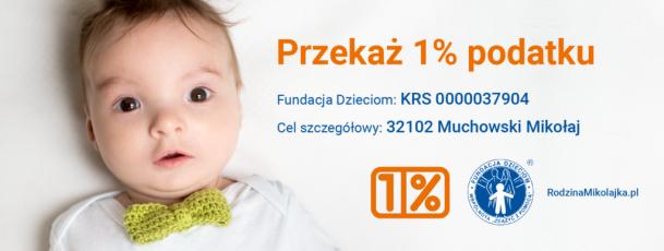 1% dla Mikołajka