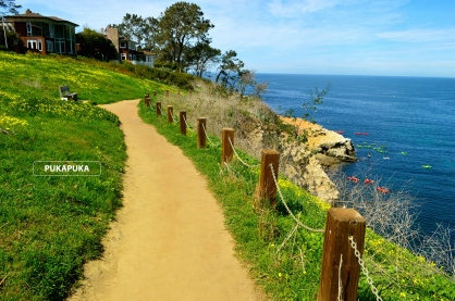 ścieżka nad morzem