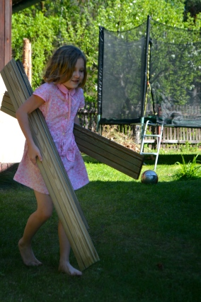 drewno na domek